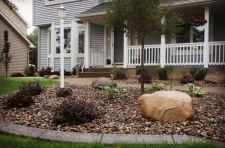 Front Yard Landscaping and Curb Edging