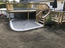 patio near deck