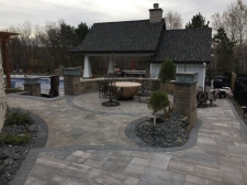 Paver Patio Area