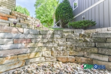 stone retaining wall woodbury